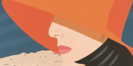 Serigrafía Katz - Orange Hat (Alex and Ada Suite)