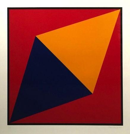 Serigrafía Hinman - Orange Triangle