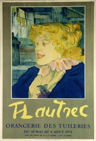 Litografía Toulouse-Lautrec - Orangerie Des Tuileries