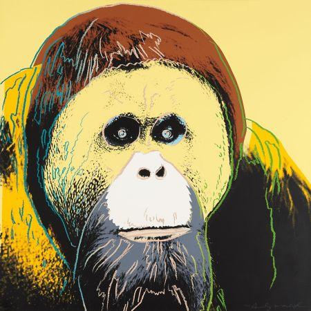 Serigrafía Warhol - Orangutan (FS II.299)