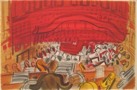Litografía Dufy - Orchestre