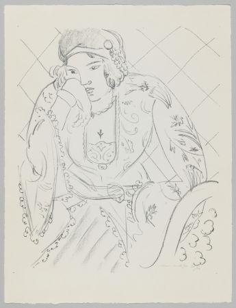 Litografía Matisse - Orientale à la croix trifoliée