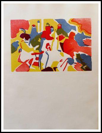 Grabado En Madera Kandinsky - ORIENTALES