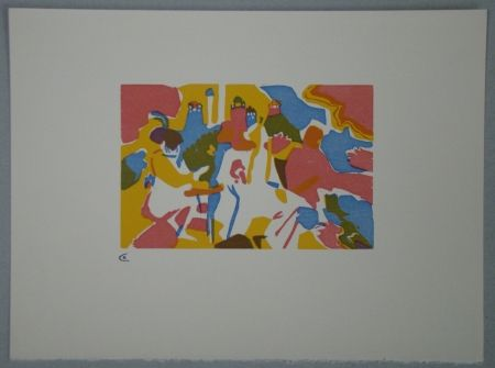 Grabado En Madera Kandinsky - Orientalisches, 1911