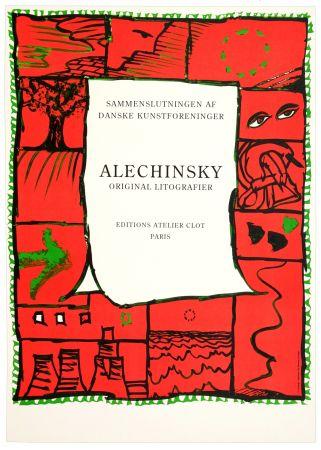 Cartel Alechinsky - Original lithographier , Editions Atelier Clot
