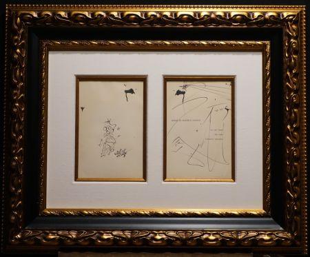 Sin Técnico Dali - Original Pen and India ink Drawing