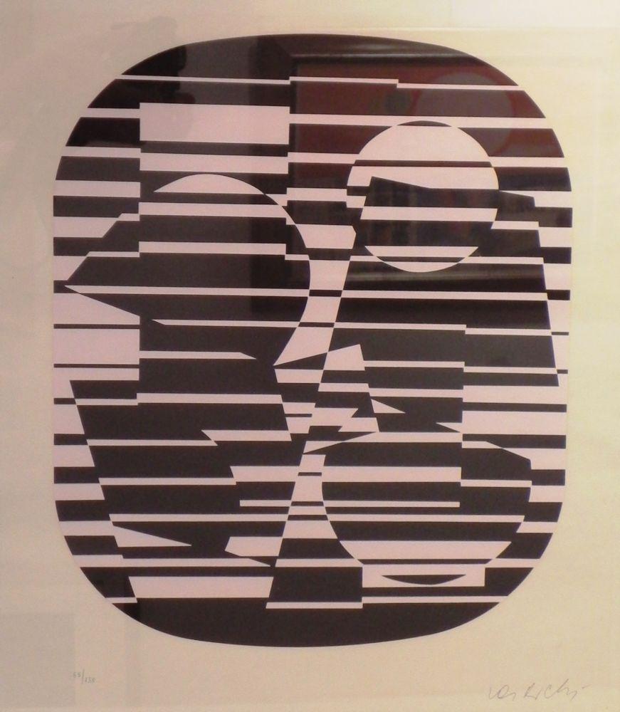 Serigrafía Vasarely - OROM