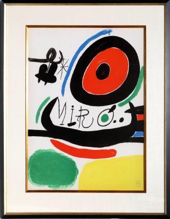 Litografía Miró - Osaka Exhibition (M. 680)