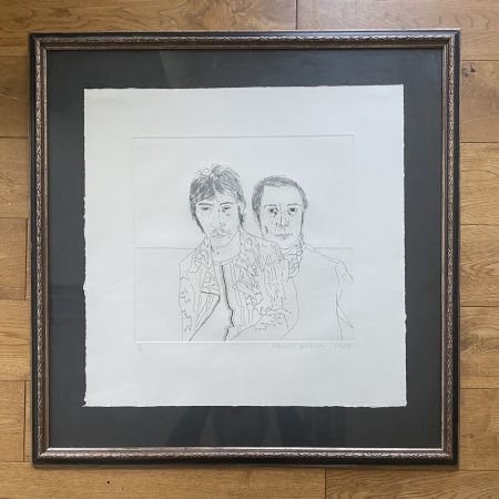 Grabado Hockney - Ossie and Mo