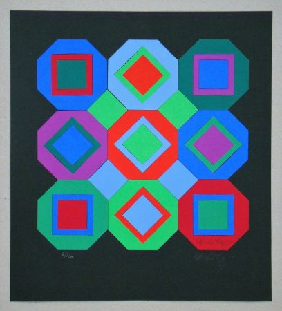 Múltiple Vasarely - OttO