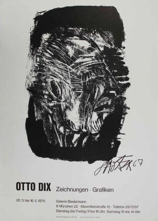 Litografía Dix - Otto Dix Zeichnungen - Grafiken