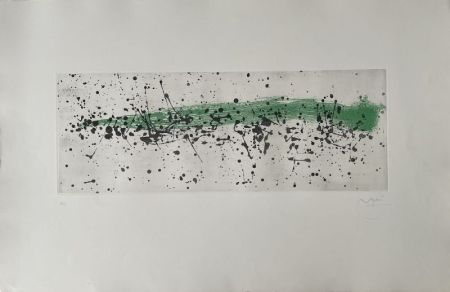 Aguatinta Miró - Ouvrage du vent I