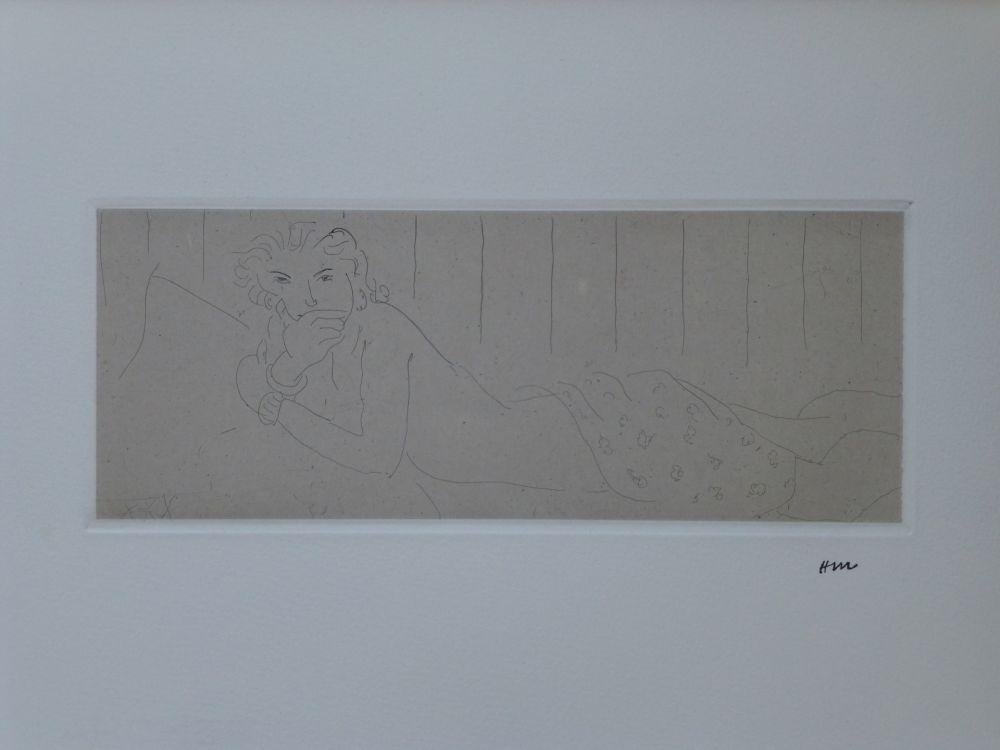 Aguafuerte Matisse - Ouvre gravé volumes I & 2