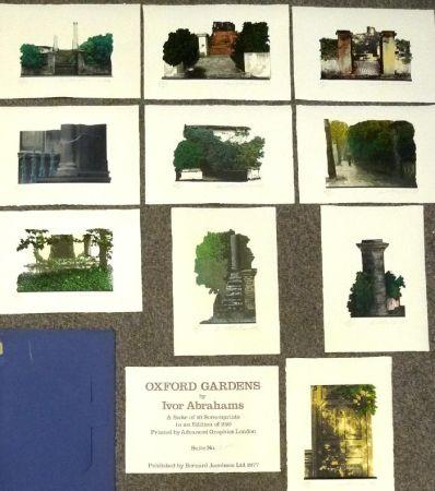 Serigrafía Abrahams - Oxford Gardens I-X