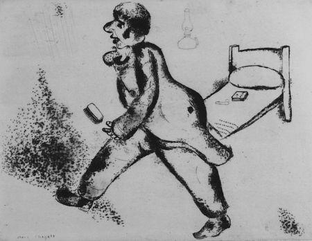 Aguafuerte Chagall - Pétrouchka