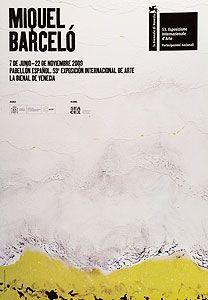 Cartel Barcelo - Pabellon Espanol, Biennale di Venezia