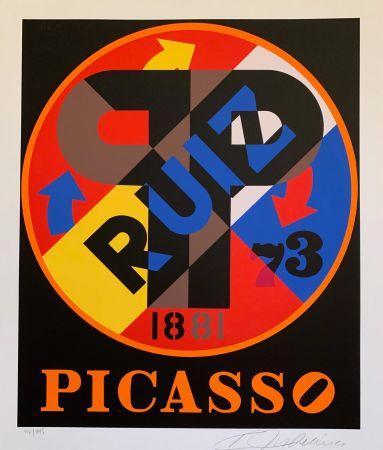 Serigrafía Indiana - Pablo Picasso