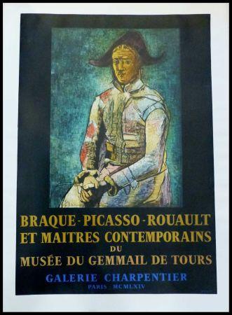 Cartel Picasso - PABLO PICASSO, MUSÉE DU GEMMAIL À TOURS GALERIE CHARPENTIER