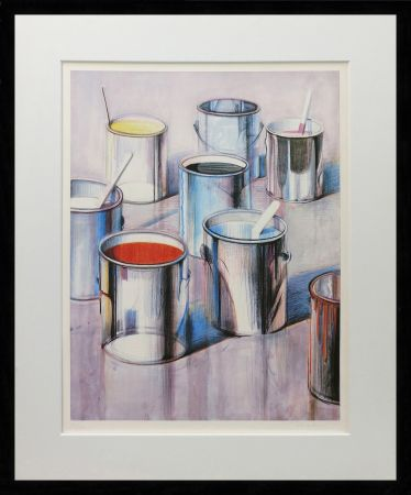 Litografía Thiebaud - PAINT CANS