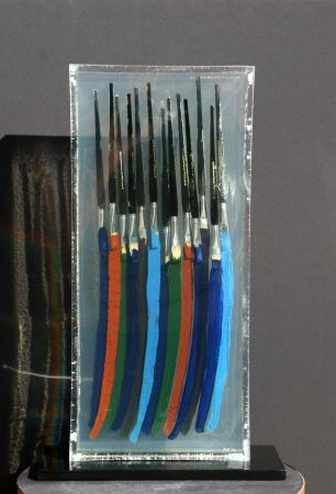Litografía Arman - Paintbrushes I