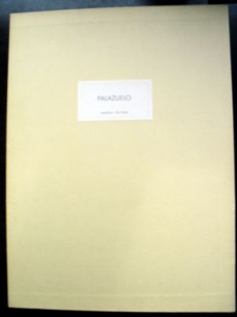 Libro Ilustrado Palazuelo - PALAZUELO. DERRIÈRE LE MIROIR N° 184. Mars 1970. Tirage De Luxe SIGNÉ