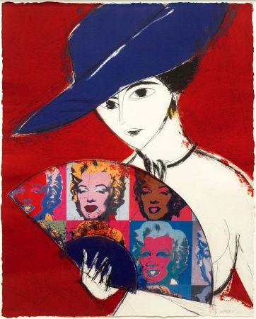 Grabado Valdés - Pamela I (Warhol)