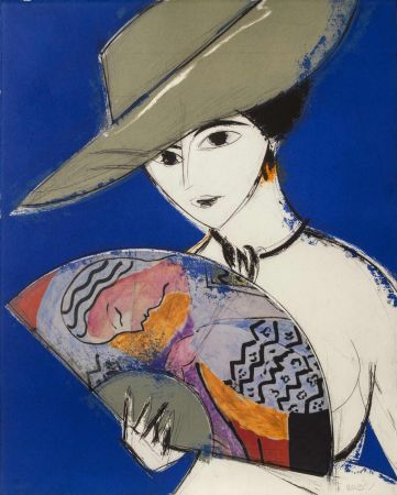 Aguafuerte Y Aguatinta Valdés - Pamela III - Chagall