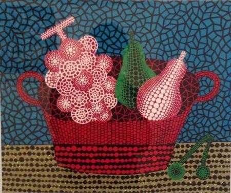 Serigrafía Kusama - Panier de fruits(I)