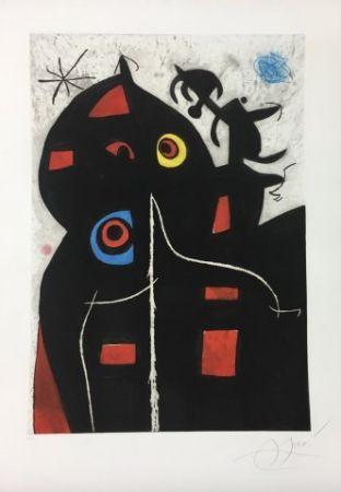 Aguafuerte Y Aguatinta Miró - Pantagruel