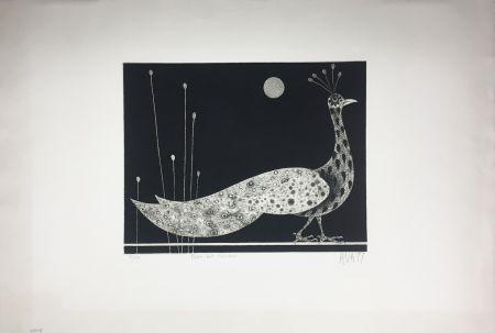 Manera Negra Avati - PAON AUX ROSEAUX (1958)