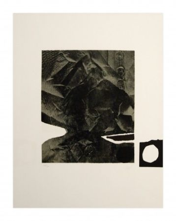 Litografía Clavé - Papier froissé