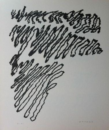 Litografía Michaux - Par la voie des rythmes 163