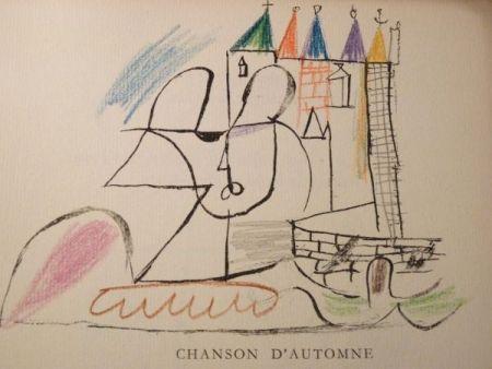 Libro Ilustrado Roux - Par Robert Ganzo. Avec vingt-trois lithographies rehaussées de couleurs de Gaston-Louis Roux.