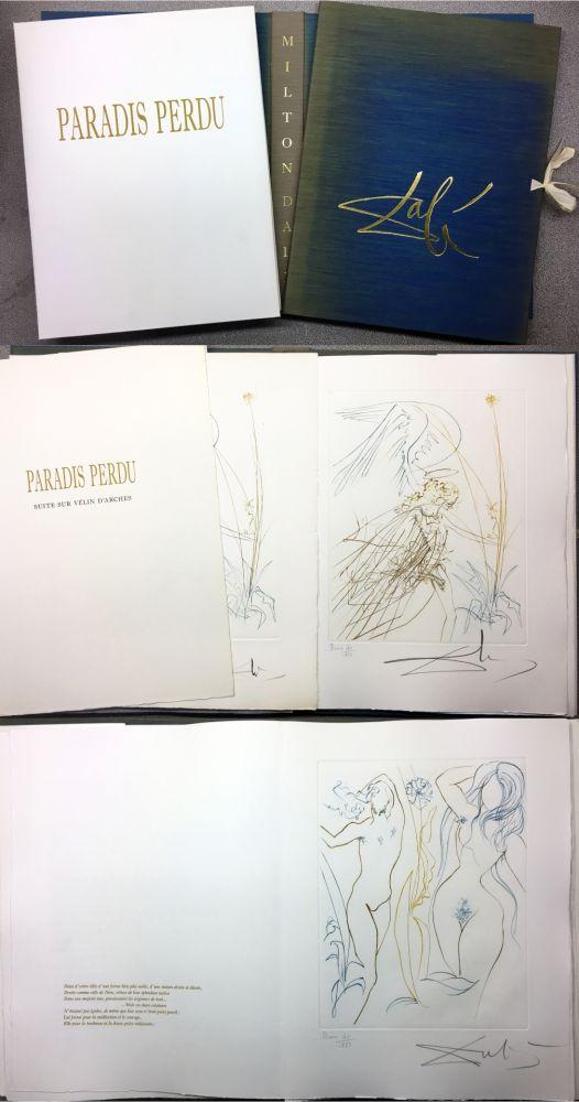 Libro Ilustrado Dali - PARADIS PERDU. (Paradis terrestre : Quatrième chant)
