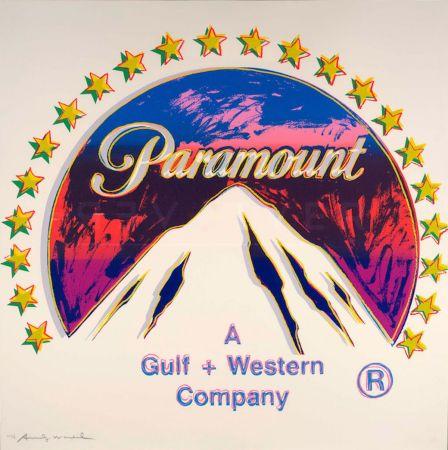 Serigrafía Warhol - Paramount (FS II.352)