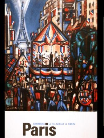 Cartel Gromaire - PARIS 14 JUILLET