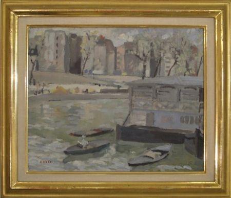 Sin Técnico Holy - Paris, Kanal mit Bateaux-Lavoir
