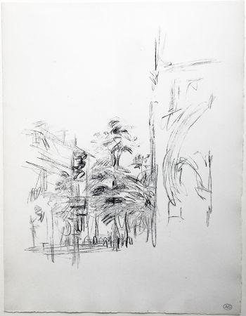 Litografía Giacometti - PARIS SANS FIN (de la suite