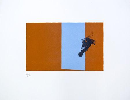 Litografía Motherwell - Paris Suite III - Autumn