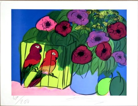Serigrafía Ting - Parrots