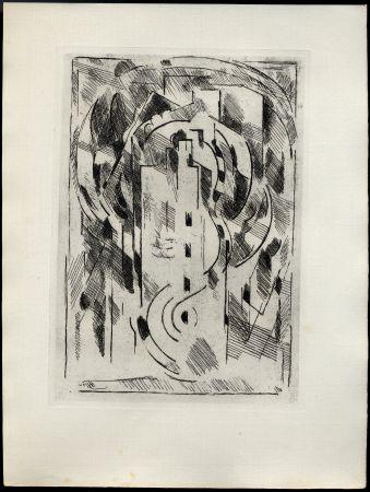 Libro Ilustrado Gleizes - PASCAL, Blaise: PENSÉES sur l'Homme et Dieu. Choix et classement de Geneviève Lewis. Gravures originales d'Albert Gleizes.