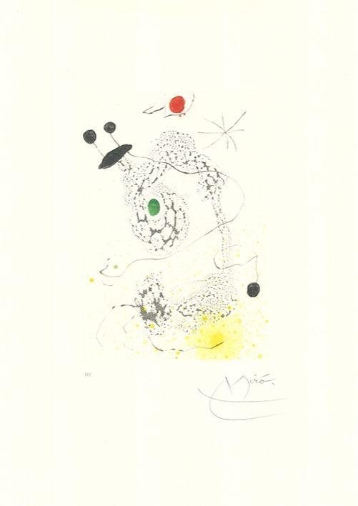 Aguatinta Miró - Passacaille