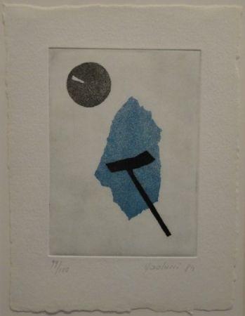 Aguatinta Paolucci - 'Passaggio', Werke aus den Jahren 1973 bis 1983