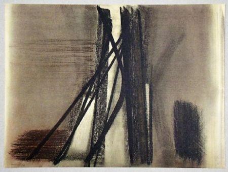 Offset Hartung - Pastel P. 1953-10