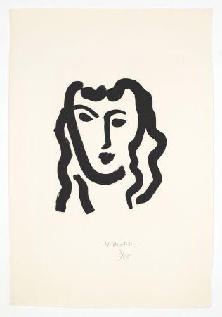 Aguatinta Matisse - Patitcha. Masque