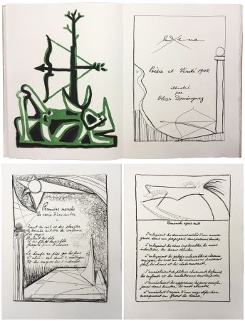 Libro Ilustrado Dominguez - Paul Éluard : POÉSIE ET VÉRITÉ 1942. 31 gravures originales (1947).