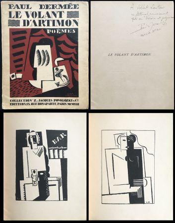 Libro Ilustrado Marcoussis - Paul Dermée : LE VOLANT D'ARTIMON. POÈMES. Exemplaire avec envoi