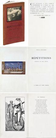 Libro Ilustrado Ernst - Paul ELUARD : Répétitions. Collages de Max Ernst. 1922.