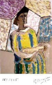 Litografía Braque - PAULHAN (Jean). Braque le patron.