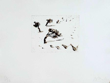 Grabado Barcelo - Paysage